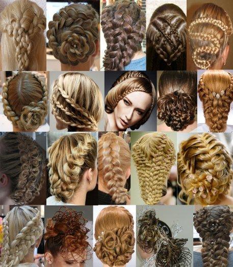 Плетение кос и прически из кос