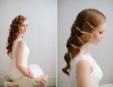 Два варианта свадебных причесок в греческом стиле