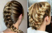 Плетение косичек на средние волосы: виды косичек