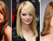 Длинная косая чёлка – отличный вариант для женщины! Выбирайте модную стрижку!